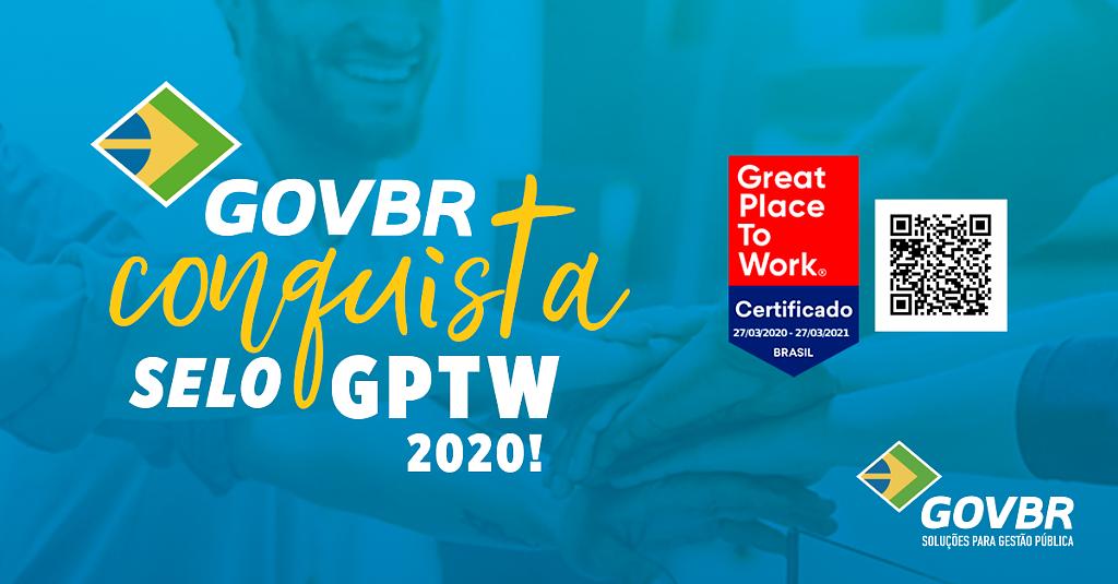 GOVBR conquista o selo GPTW 2020