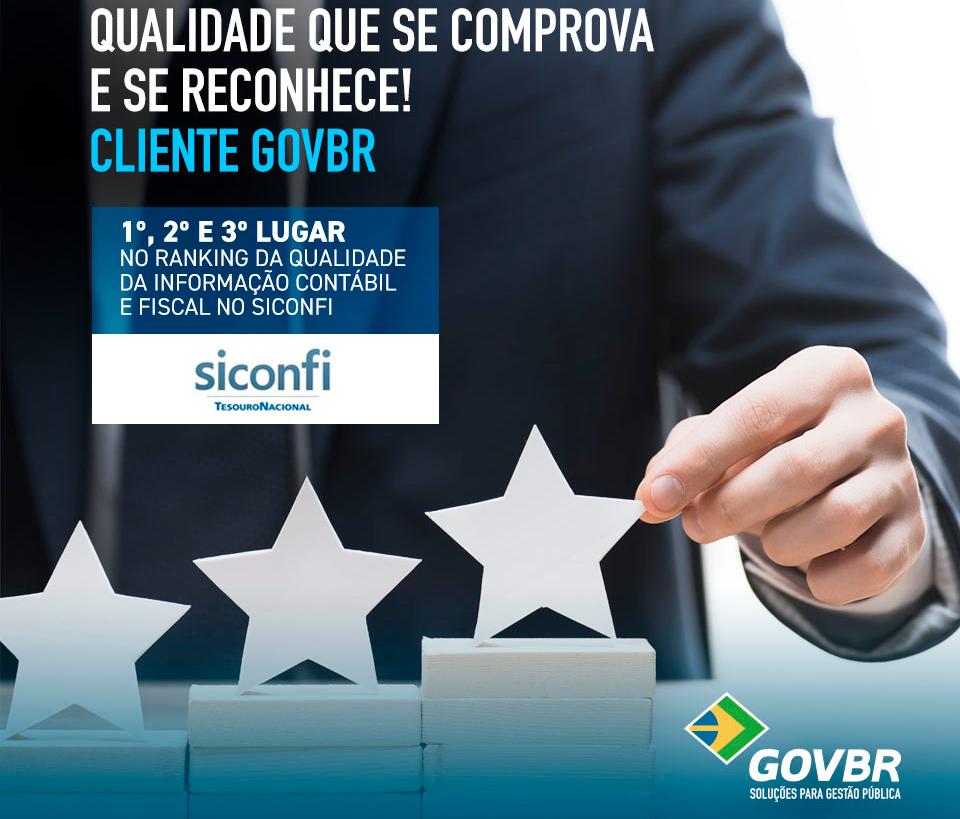 Ranking da Qualidade da Informação Contábil e Fiscal no Siconfi